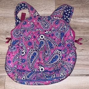Vera Bradley Backpack Boysenberry Pattern